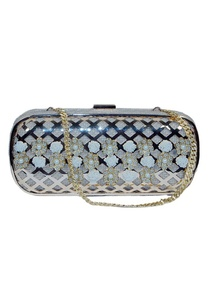 gold-jute-clutch-with-floral-pearl-embellishment