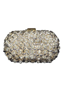 silver-floral-metal-clutch