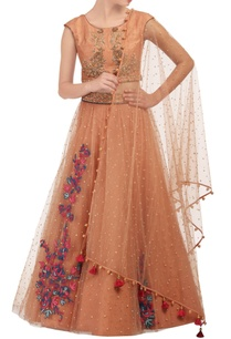 dusky-peach-embroidered-lehenga-set