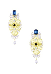 gold-teal-blue-stone-embellished-neelam-earrings
