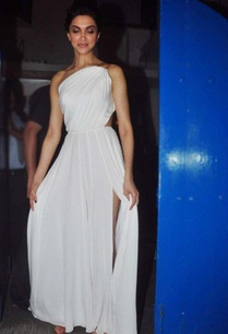 white-one-shouldered-gown-with-leather-detailing