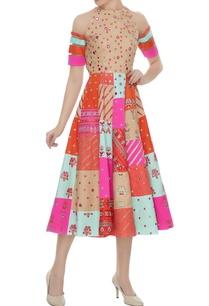 multi-colored-twill-net-scuba-thread-handwork-abla-embroidered-dress