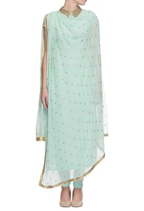 light-blue-embellished-draped-kurta-with-churidar