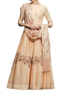 peach-chanderi-satin-silk-hand-embroidered-gown-with-hand-embroidered-dupatta