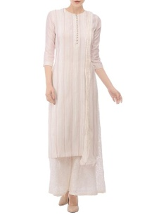 off-white-red-embroidered-kurta-set