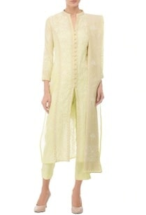 pale-yellow-ivory-embroidered-kurta-set%c2%a0