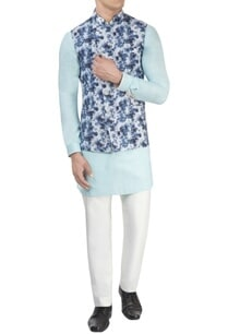 white-printed-nehru-jacket