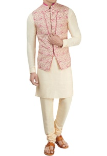 off-white-pink-nehru-jacket