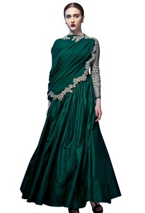 emerald-green-embroidered-anarkali