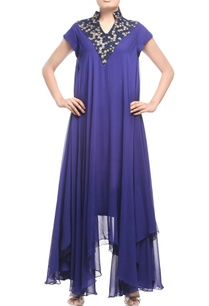 midnight-blue-embellished-asymmetric-tunic