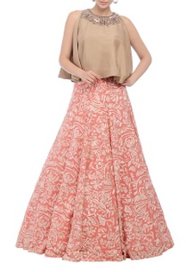 pink-embroidered-lehenga-with-flared-top