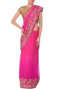 pink-embroidered-sari