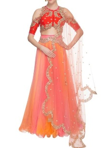pink-orange-embellished-lehenga-set