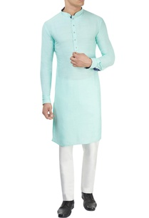 sea-green-kurta-white-pants