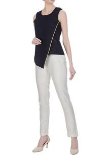 linen-overlap-blouse