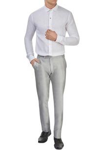white-linen-shirt