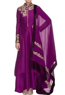 purple-resham-embroidered-kurta-set