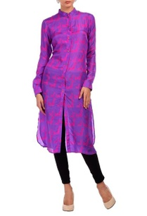 purple-fuschia-animal-motif-printed-tunic