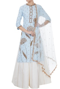 ice-blue-white-chanderi-tafetta-net-hand-crafted-nakshi-sequin-kurta-with-palazzos-dupatta