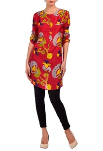 red-floral-motif-printed-tunic