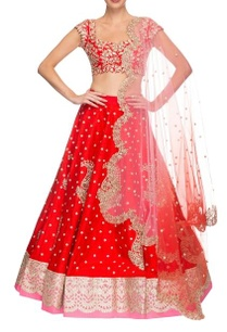 red-rose-pink-floral-embroidered-lehenga-set