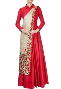 red-floor-length-gown-with-drape-effect
