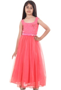 soft-coral-stretch-yoke-embroidered-flowy-gown