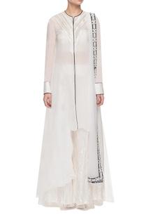 white-mirror-embellished-kurta-set