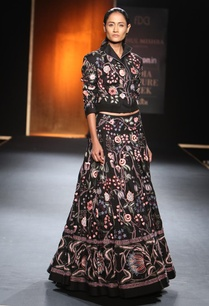 black-embroidered-chintz-bomber-jacket-with-lehenga