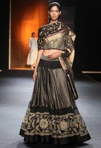 black-and-gold-hand-embroidered-lehenga-set