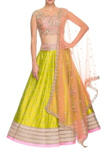 rose-pink-lime-green-floral-embroidered-lehenga-set