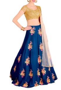 royal-blue-gold-floral-embellished-lehenga-set