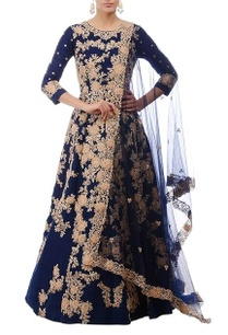 royal-blue-gold-floral-embroidered-anarkali-set