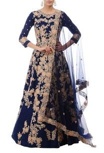 royal-blue-gold-floral-embroidered-anarkali-set