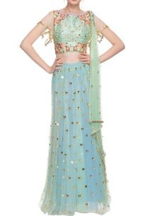 sea-green-blue-floral-embroidered-lehenga-set