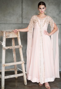 blush-pink-embroidered-cape-jacket-with-gown
