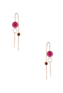 rose-gold-plated-quartz-earrings