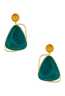 gold-plated-malachite-earrings