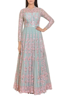 icy-blue-and-pink-mirror-work-embroidered-gown