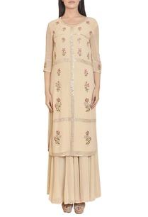 beige-floral-mirror-work-embroidered-tunic