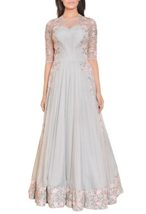 stone-grey-floral-mirror-work-embroidered-gown