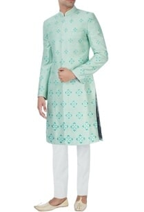 mint-green-embroidered-sherwani-set