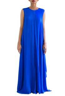 cobalt-blue-panelled-dress