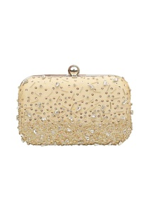 beige-sequin-embellished-box-clutch