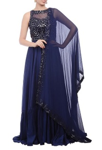 navy-blue-embellished-yoke-anarkali-set