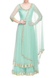 turquoise-layered-and-sequin-embellished-anarkali-set