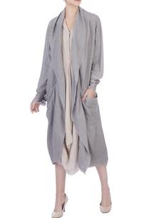 grey-crinkle-cotton-solid-jacket