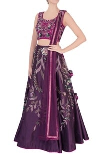 purple-sequin-embroidered-lehenga