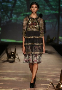 black-olive-brown%c2%a0foliage-tiered-dress