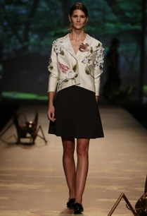 ivory-floral-applique-jacket-with-black-skirt